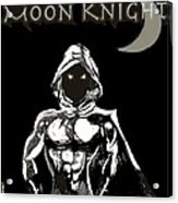 Moon Knight The White Knight Acrylic Print