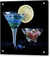 A Creative Cocktail - Moon Light Cocktail Lemon Flavour 1 Acrylic Print