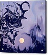Moon Madness Acrylic Print