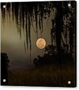 Moon Mists Acrylic Print