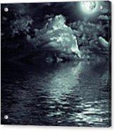 Moon Mysterious Acrylic Print