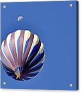 Moon Over Balloon Acrylic Print