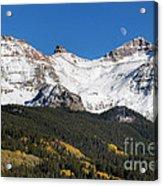 Moon Over Lizard Head Pass Acrylic Print