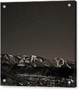 Moon Over Mt. Werner Acrylic Print