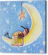 Moon Piper Acrylic Print