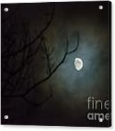 Moon Ring Acrylic Print