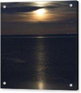 Moon Rise Acrylic Print by Anne Gilbert