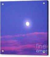 Moon Rise II Acrylic Print