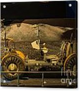 Moon Rover Acrylic Print