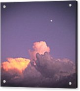 Moon Speck Acrylic Print by Robert J Andler