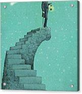 Moon Steps Acrylic Print