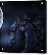 'moon Struck' Acrylic Print