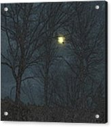 Moon Tree Acrylic Print