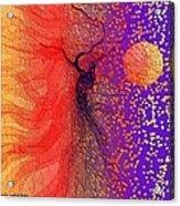 Moondance Acrylic Print by Carola Ann-Margret Forsberg