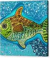 Moonfish Acrylic Print