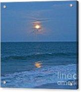 Moonglow Acrylic Print by Carol  Bradley
