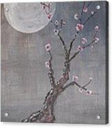Moonlight Blossoms Gekkoka Acrylic Print