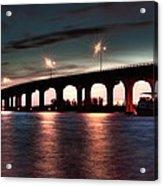 Moonlight Bridge Acrylic Print