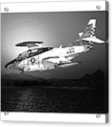 Moonlight Buckeye T 2c Training Mission Acrylic Print