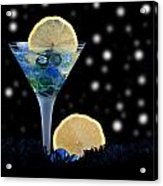 Creative - Moonlight Dark Star Cocktail Lemon Flavoured 1 Acrylic Print