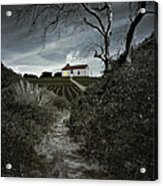 Moonlight Farm Acrylic Print