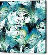 Moonlight Fish Acrylic Print