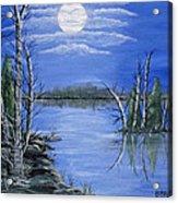 Moonlight Mist Acrylic Print