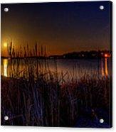 Moonlight On The Lake Acrylic Print