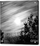 Moonlit Clouds Acrylic Print