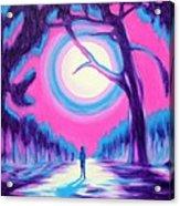 Moonlit Forest Acrylic Print