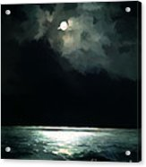 Moonlit Night Acrylic Print