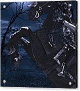 Moonlit Warrior Acrylic Print