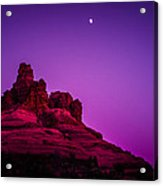 Moonrise Bell  Acrylic Print by Roger Chenery