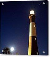 Moonrise On Tybee Island Acrylic Print