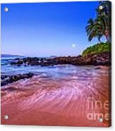 Moonrise Over Maui Acrylic Print
