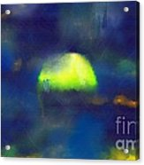 Moonrise Primitive Acrylic Print