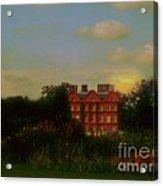 Moonrise - Sunset Acrylic Print