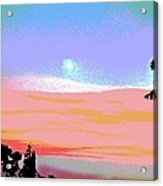 Moonrise Three Acrylic Print