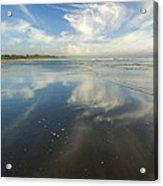 Moonstone Beach Reflections Acrylic Print