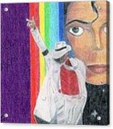 Moonwalker Acrylic Print by Bav Patel