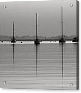 Moored Tranquility Acrylic Print
