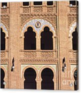 Moorish Arches Madrid Acrylic Print