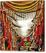 Moorish Market In Granada 2 Acrylic Print