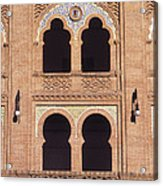 Moorish Windows Madrid Acrylic Print