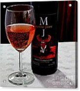 Moose Joose - Blueberry Partridgeberry Wine  Acrylic Print