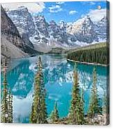 Moraine Lake - Banff National Park - Canada Acrylic Print