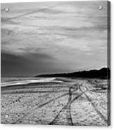 More Beach Tracks Acrylic Print