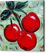 More Cherries Acrylic Print