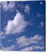 More Clouds Acrylic Print