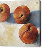 More Georgia Peaches Acrylic Print by Torrie Smiley